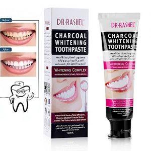 خمیر دندان سفید کننده ی دکتر راشل مدل دیاموند Dr.rashel diamond whitening toothpaste